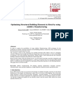 Additive Manufacturing Report for IASS 21015