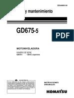 Motoniveladora Komatsu GD675-5.pdf