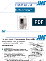 OT-701 Maintenance (Spanish)