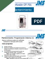 OT-701 Maintenance (Spanish)