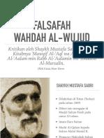 Kritikan Sheikh Mustofa Sabri Dalm Mawqif AL-Aql