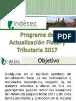 Programa Actualizacion Fiscal Tributaria 2017