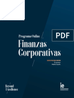 Programa Online Finanzas Corporativas