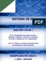 Sistema de Las 6's 2018