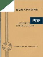 Linguaphone Afrikaans Students' Instructions (1950)