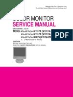 LG LCD MONITOR M1917A-K,F,GZD_E