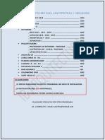 Listado de Software Para Arquitectura