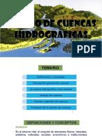 Manejo de Cuencas Hidrograficas