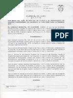 Acuerdo 016- 2018