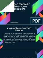 AVALIAÇÃO ESCOLAR.pptx