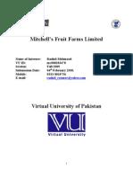 Reading Internship Report-Mc080203478