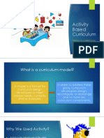 Activity BASE Curriculum