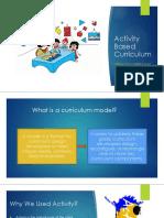 Activity BASE Curriculum