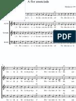 A flor anunciada 4 vozes em pdf.pdf