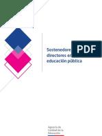 Sostenedores y directores en la educación pública