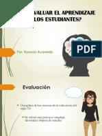 evaluacion del aprendizaje en los estudiantes