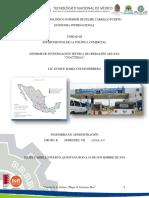 Informe de Investigación Técnica de Operación Aduana Chactemal. Equipo Carla