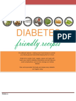 Diabetes Friendly Recipes