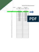 Planilla de Excel Para El Calculo de Tir y Van