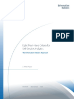 Eight Must-Have Criteria for Self-Service Analytics