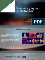 Radiación térmica y ley de Stefan-Boltzmann.pptx