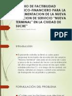 Estudio de Factibilidad Tecnico-financiero Para La Implementacion De2