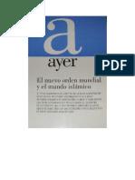 Segura Mas Antoni - El Nuevo Orden Mundial Y El Mundo Islamico