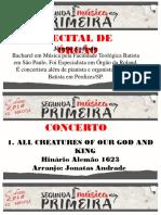 Recital Órgão - 19-11-18