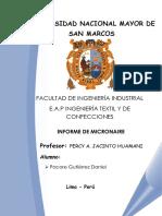 Micronaire