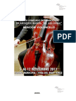 Bases Cello Luis Sigall