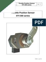 974000-GENERIC - Trottle position Senser