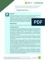 Programa - Curso E-portafolios 2018
