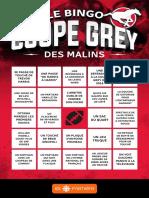 Le bingo Coupe Grey des Malins