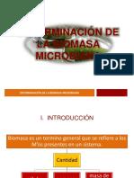 Determinación de La Biomasa Microbiana
