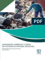 Livro Saneamento e Saude Catador Material Reciclavel Versao Final Bx