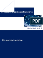 1 Introducción a Los Riesgos Financieros