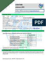 Participant Registration Form