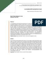 Dialnet-LaConstruccionSocialDeLoRural-5275938