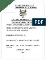 Planta Transmisora de FM