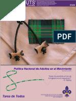 Politicas Adultos en el Movimiento Scout