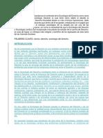 La Sociologia Del Derecho Fuentes Caracterisitcas