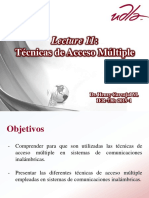P11 Técnicas de Acceso Múltiple (1)