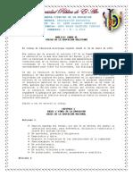 Codigo de Educacion Bolivina