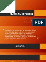 Pleural Effusion New