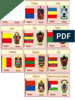 Banderas y Escudos de La Provincia de La Sierra