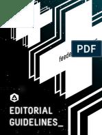 feeder workshops - Editorial Guidelines