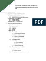 Elementos Estructurales de Un Proyecto de Investigación