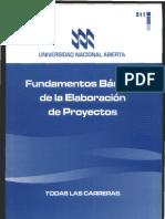 811 - Fundamentos Básicos de la Elaboración de Proyectos.pdf