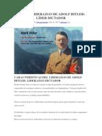 Liderazgo Hitler