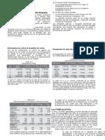 Costos y Presupuestos de Mypes
